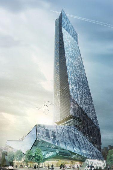 Hanking Center Tower | Architect Magazine | Morphosis Architects, Shenzhen, China, Office, Commercial, Retail, ARCHITECT Progressive Architecture Awards 2016, Morphosis
