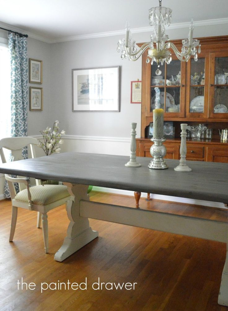 Farmhouse Dining Room See More Table Thepainteddrawer