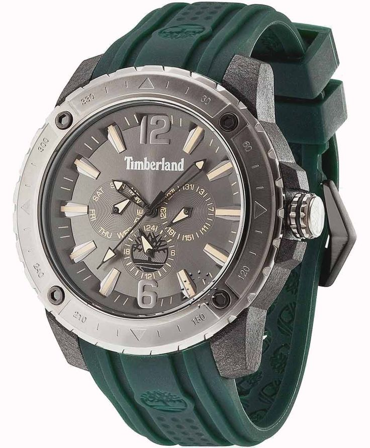 TIMBERLAND Granville Dark Green Rubber Strap Η τιμή μας: 143€ http://www.oroloi.gr/product_info.php?products_id=35598