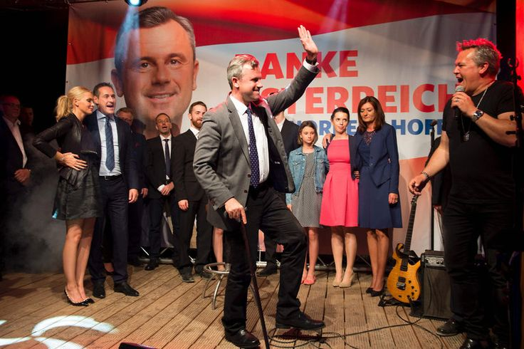 Austrian Far-Right Candidate Norbert Hofer Narrowly Loses Presidential Vote - The New York Times