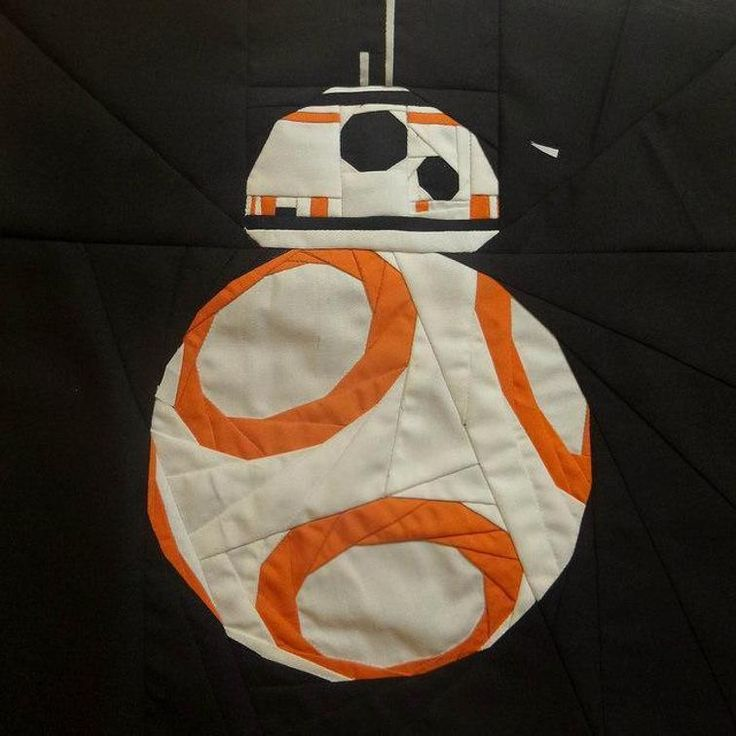 If you have ever wanted to impress the boys with your Quilting skills then this one might grab their attention. How super cool will you be when you hand them their own BB-8 Star Wars droid quilt!  …