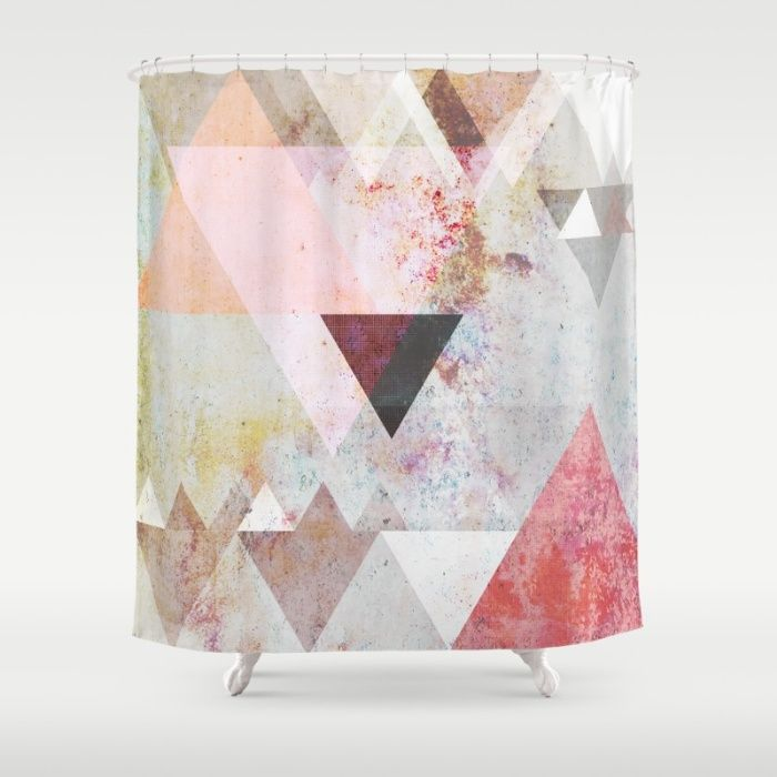 Graphic 3 Shower Curtain