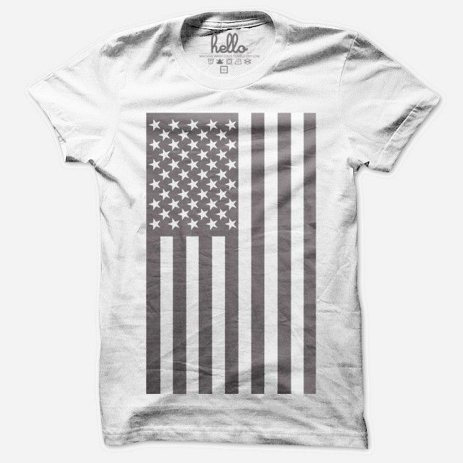 American Flag (Adult) T-Shirt (Note to self: These shirts run big)