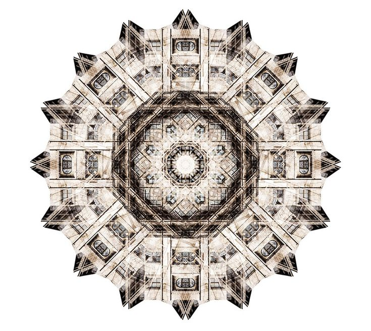 exquisite kaleidoscopic compositions of architectural details by canadian photographer cory stevens