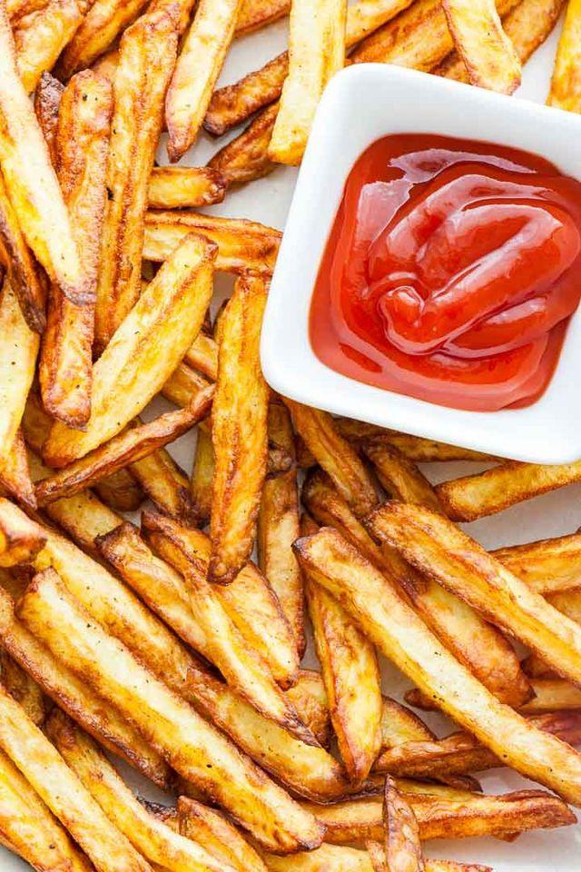 ¿puedes comer papas fritas en una dieta cetosis?