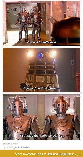 heard you guys liked doctor who