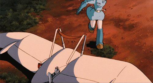 Nausicäa by Hayao Miyazaki