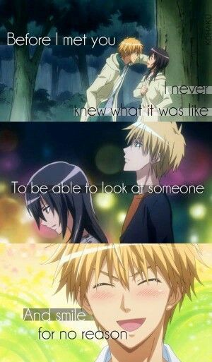 That's what love can do - Kaichou wa Maid-sama! ~ DarksideAnime