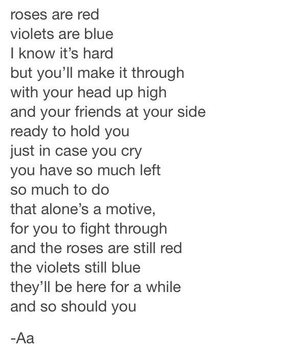 Roses Are Red, Violets Are Blue Poems for Valentines Day ...