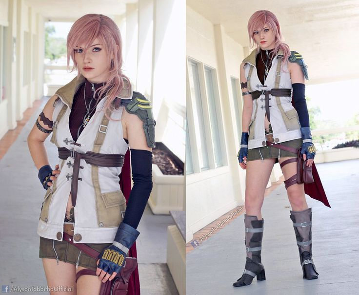 Lightning Final Fantasy XIII Cosplay by AlysonTabbitha  sc 1 st  Pinterest & Best 25+ Lightning final fantasy ideas on Pinterest | Final ... azcodes.com