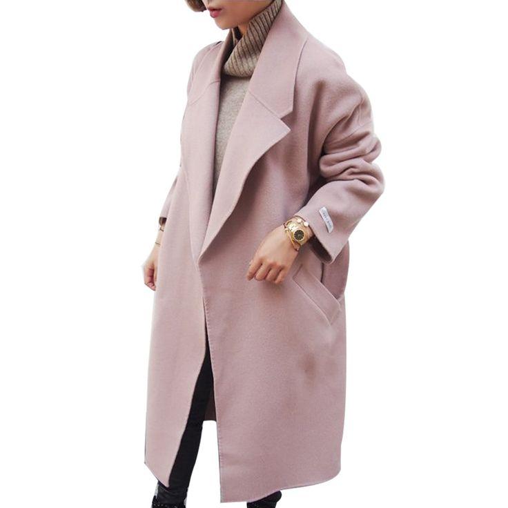 2017 Mujeres de Primavera Abrigos de Invierno Chaquetas Largo Grueso Poncho Cinturón de Gran Tamaño de Alta Calidad Edredón de Invierno Largo Abrigo Abrigos Manteau Femme