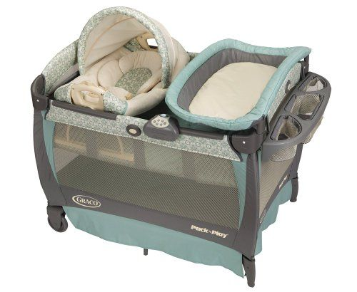 Graco Pack 'n Play Playard with Cuddle Cove Rocking Seat, Winslet Graco http://www.amazon.com/dp/B005UV0USQ/ref=cm_sw_r_pi_dp_N8eOub0Z9E651