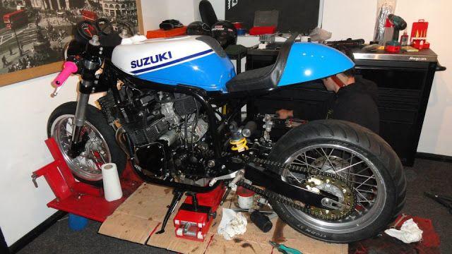 Suzuki Cafe Racer Savage Suzuki GSXR Cafe Racer Savage Motos