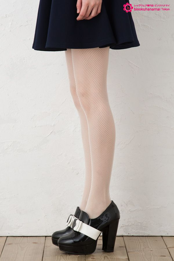 FISH NET TIGHTS WHITE JPY333(without TAX)