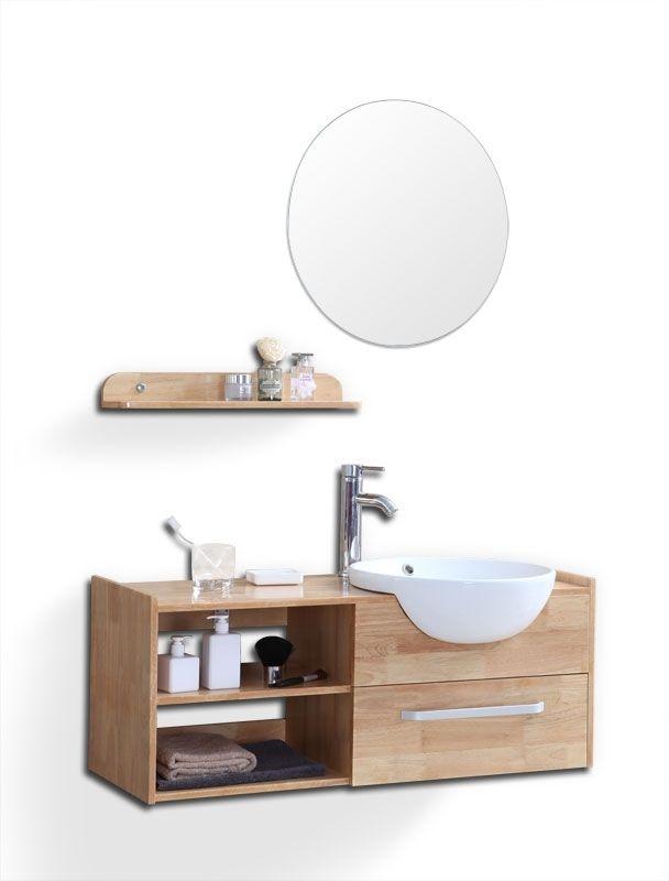Les 25 meilleures id es concernant meuble vasque pas cher for Table de drapier salle de bain