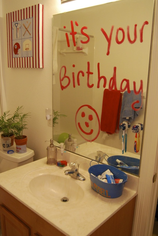 All of these are great!!!  20 ways to make your child feel special on their birthday!