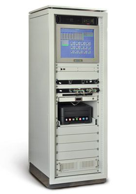 Diagnostic station, responsible for collection, storage, data processing and issuing of monitoring results