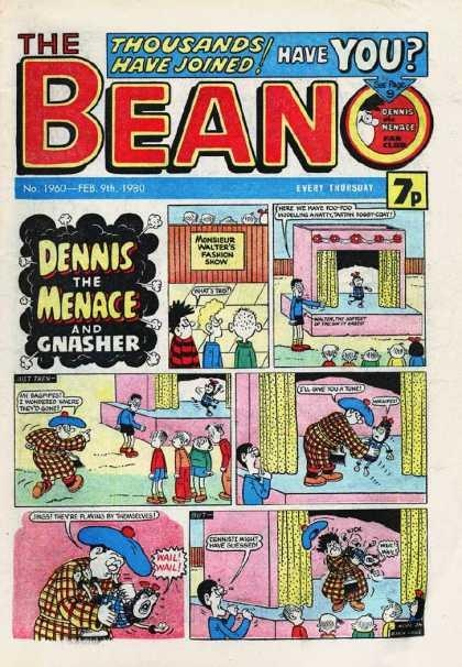 Still maintain my collection of Beanos in the loft will make me millions one day...
