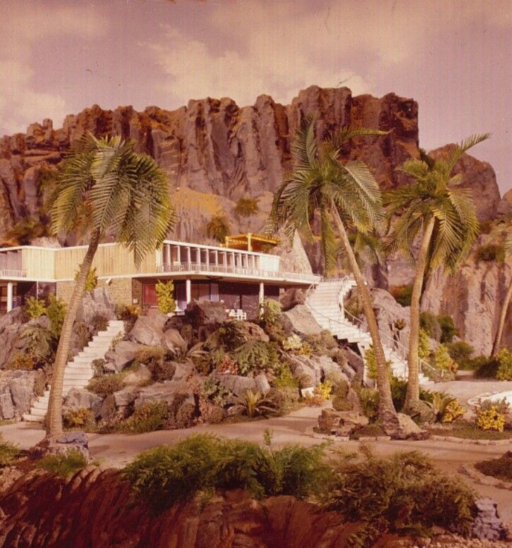 Tracy Island - Thunderbirds (1964)