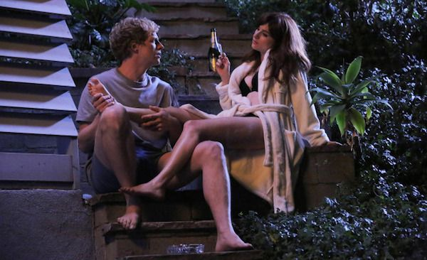 Chris Geere (Jimmy) and Aya Cash (Gretchen) on You're the Worst