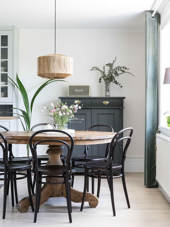 Pin By Julie On Round Table Black Dining Room Sets Dining Room