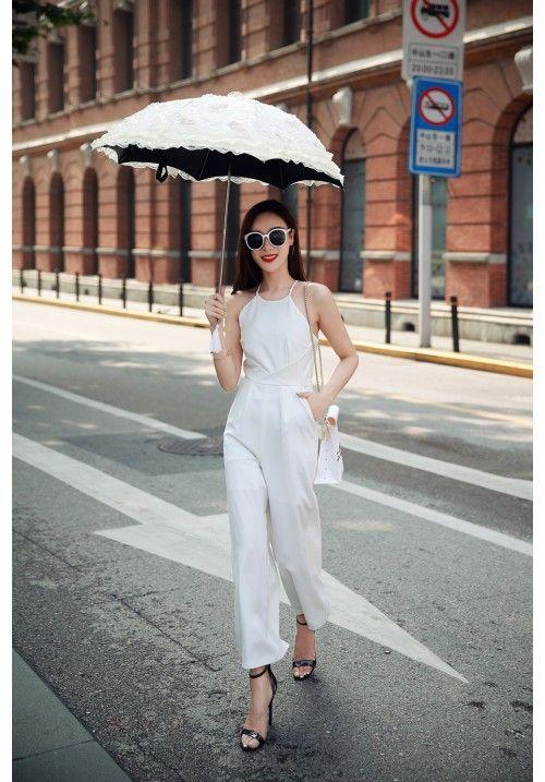 Hot-seller white jumpsuit back in stock.