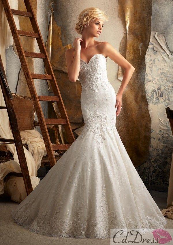 164 best Wedding Dress images on Pinterest   Gown wedding, Bridal ...