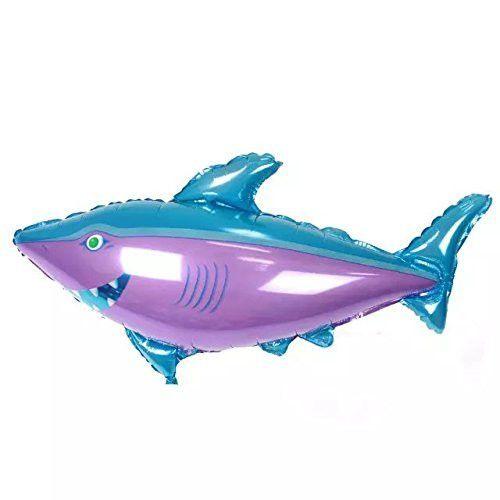 1PaysLess® Own Balloons Big Shark Birthday Party Balloon