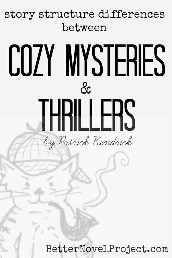 Crazy vs. Cozy: Deconstructing the Differences Between Thrillers & Mysteries