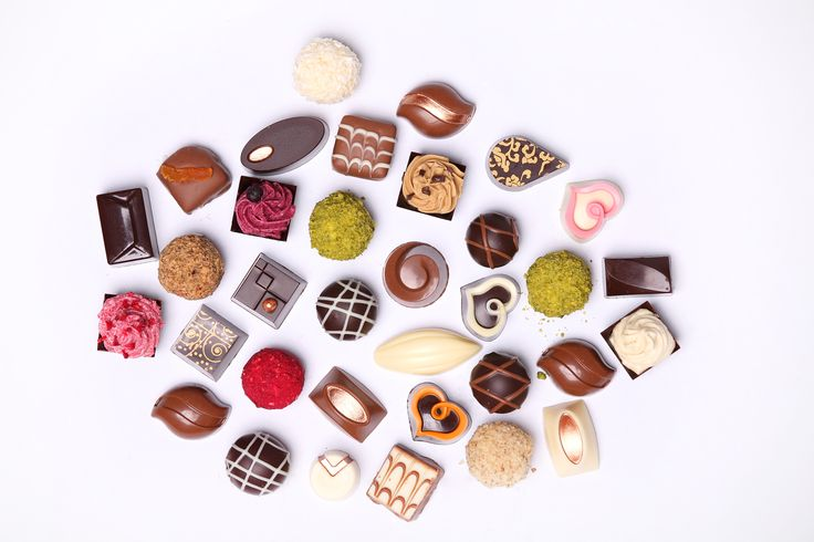Hand made pralines. Food styling by Rita Szabo. Photo by Arpad Csikos. Chocolate by Csokiss.