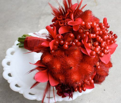 Christmas Wedding Bouquets And Flowers: 118 Best Christmas Wedding Bouquet Images On Pinterest