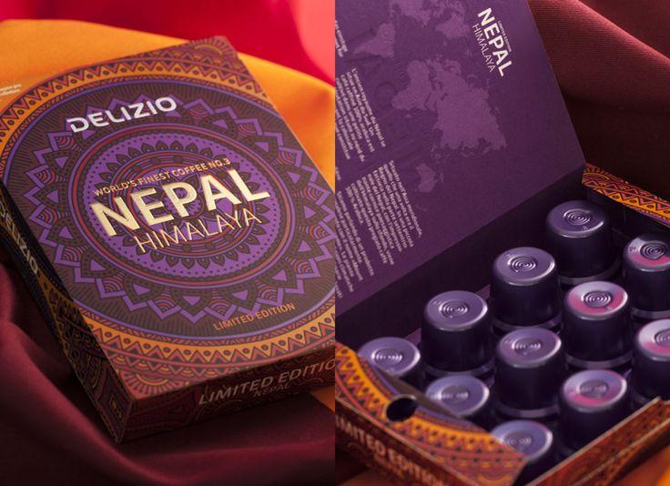 Delizio Limited Edition Nepal   Marken- & Packaging-Agentur   Studio Schoch AG