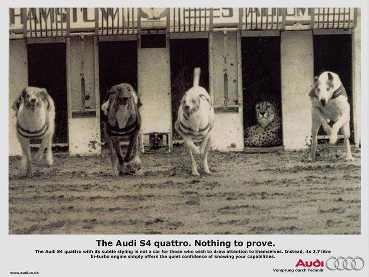 """Audi s4 quattro. Niente da dimostrare"""