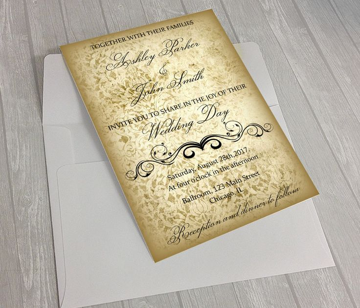 1000+ Ideas About Wedding Invitation Ornament On Pinterest