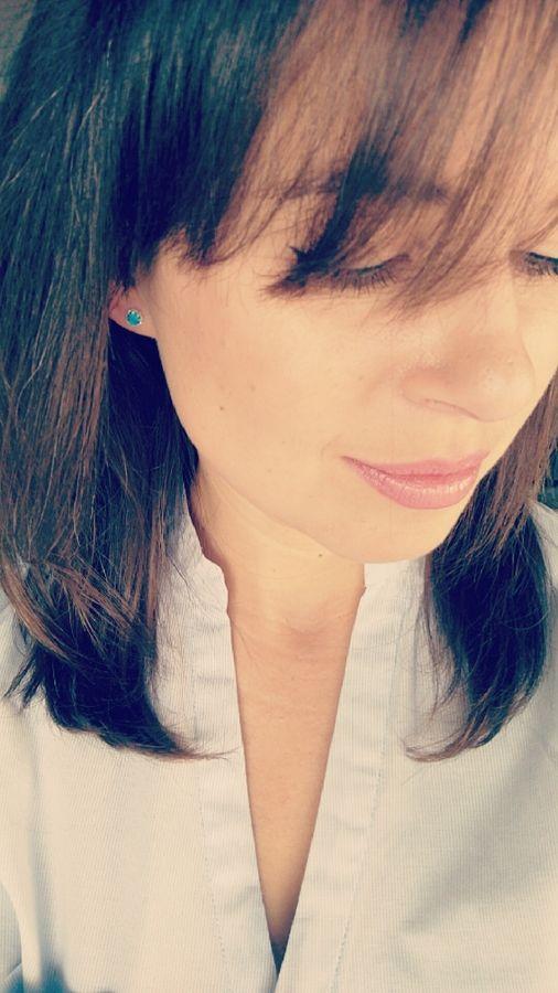 Sterling silver earrings with Pacific Blue Opal from Filigree. Click on the photo to go to our store! :)  Przepiękne, mieniące się kolczyki z niebieskim opalem. Kliknij na zdjęcie aby przejść do sklepu! :)