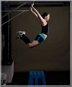 Kipping pull ups...one day!