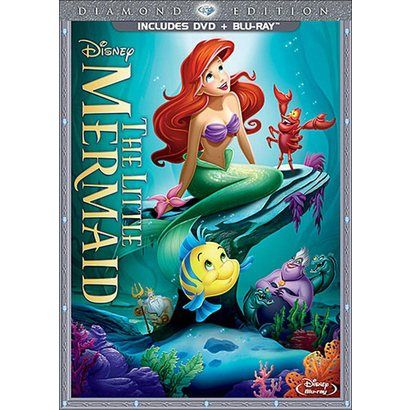 The Little Mermaid (Diamond Edition) (2 Discs) (DVD/Blu-ray)  preorder for the girls, comes out on 10.01.13  need it on DVD  IT NEEDS TO BE OCTOBER!