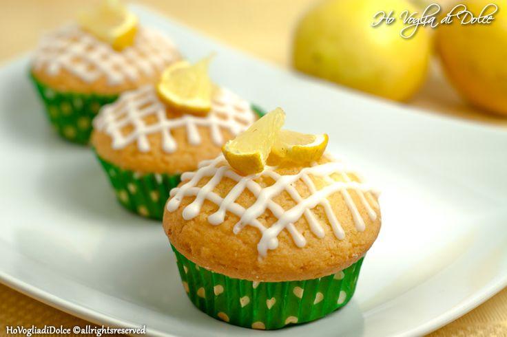 Muffin al limone, ricetta dolce per la colazione | Ho Voglia di Dolce