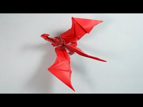 Origami Dragon 8.0 Intermediate version Tutorial (Henry Pham) - YouTube