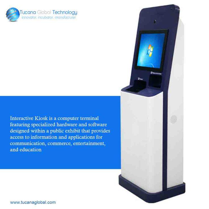 #Interactive #Kiosk is a #computer terminal featuring specialized #hardware and #software designed within a #public #exhibit that provides access to #information and #applications for #communication, #commerce, #entertainment, and #education. #TucanaGlobalTechnology #Manufacturer #HongKong