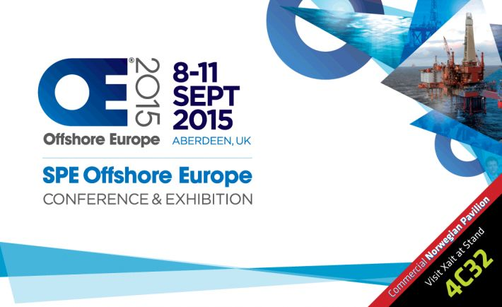 Xait at the Offshore Europe 2015
