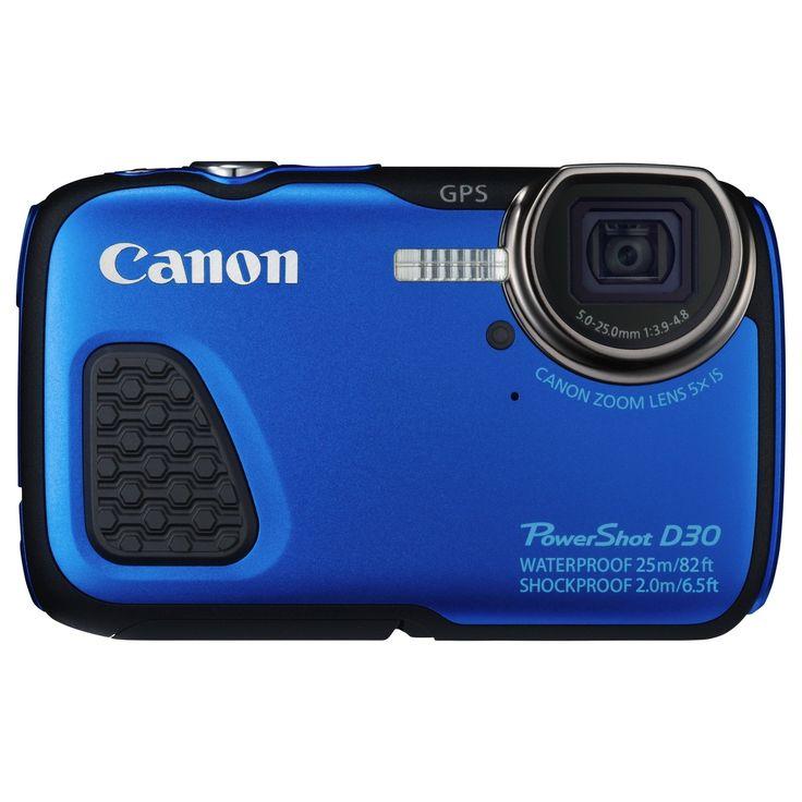 Canon PowerShot D30 12.1 Megapixel Compact Camera -