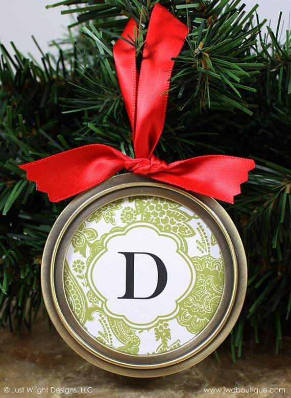Monogrammed Christmas Gift Ideas