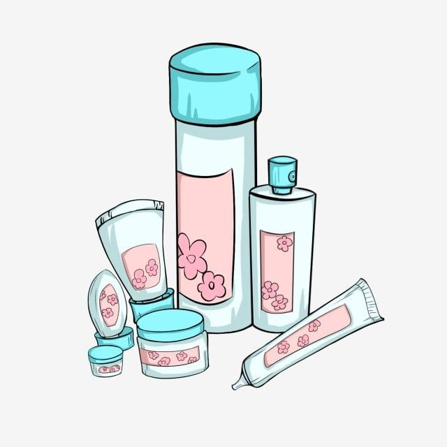 Hand Painted Cosmetics Female Beauty Skin Care Products Cream Skin Cream Cosmetic Bottle Cartoon Cosmetics Png Transparent Clipart Image And Psd File For Fre Beauty Skin Care Beauty Skin Skin Cream