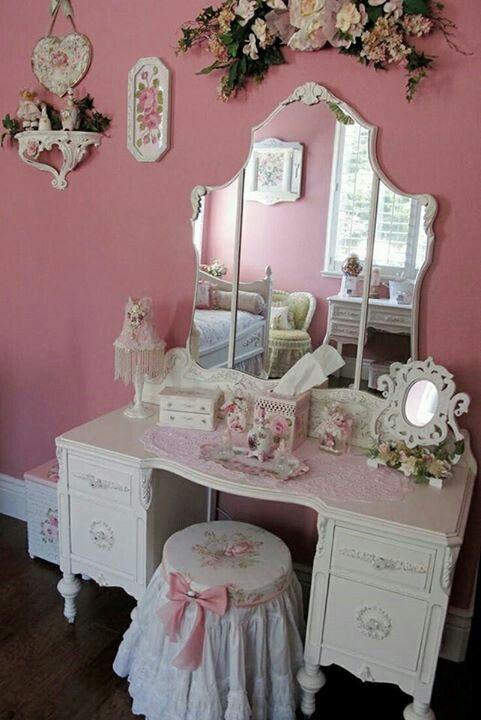 Dusty Pink Dresser