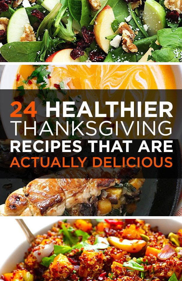 24 Healthier Thanksgiving Recipes That Are Actually Delicious