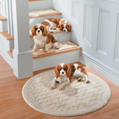 Weave Washable Stair Treads Will Help Protect Your Wood Flooring While  Providing More Secure Footing For You And Your Pets. These Slip Resistant  Rugs Are ...