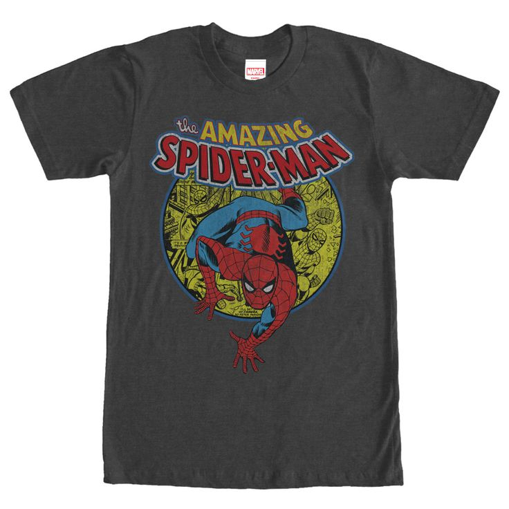 Peter Parker must learn that with great power there must also comegreat  responsibility with the Marvel Amazing Spider-Man Responsibility Heather  Charcoal ...