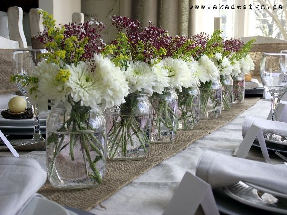 Looks like it would be great for a wedding reception as you can personalize it for your own colors.  gonna try.