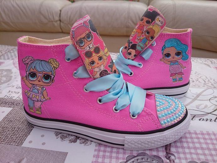 a9df1cac97c Custom LOL shoes 5th Birthday Party Ideas